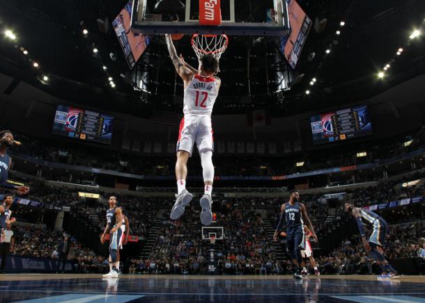 Kelly Oubre es un jugador muy llamativo para el resto de la liga. | Fotografía: NBA.com