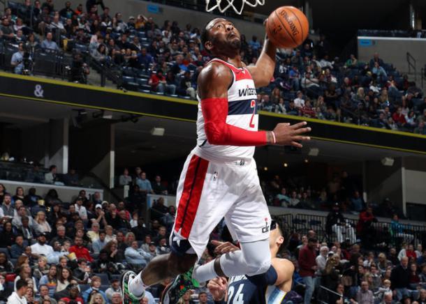 John Wall sigue siendo el estandarte de Washington. | Fotografía: NBA.com