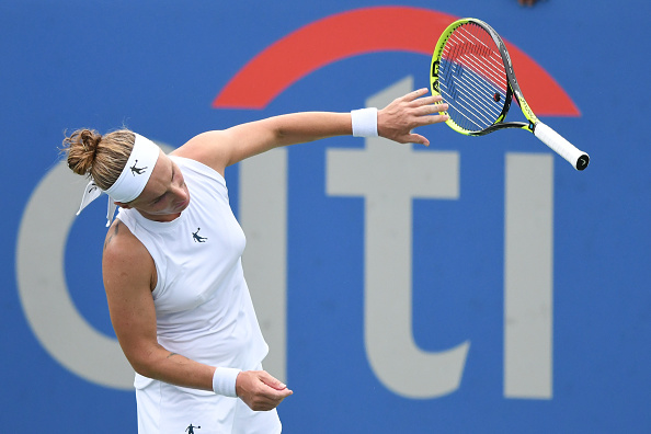 Svetlana Kuznetsova suffered from a slow start but rebounded to triumph | Photo: Mitchell Layton / Getty Images