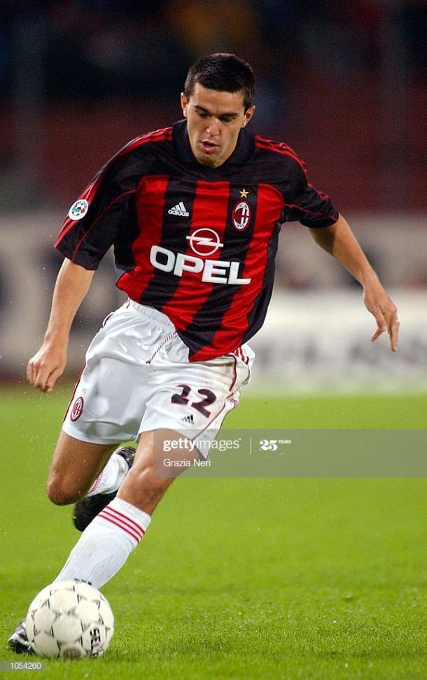 Cosmin Contra en su etapa con el Milan | Fuente: Getty