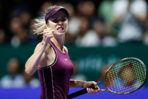 Top seed and defending champion Elina Svitolina headlines the field of this year's tournament. Photo: Fred Lee/Getty Images.
