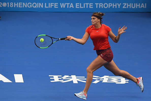 Aryna Sabalenka will now fancy her chances to making it into the semifinals | Photo: Zhe Ji / Getty Images