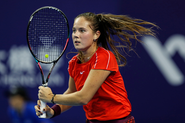 Daria Kasatkina eased to the first set within a blink of an eye | Photo: Fred Lee / Getty Images
