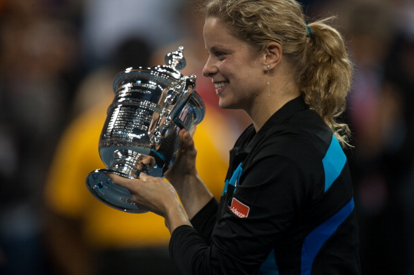 Clijsters won her third US Open title in 2010 (Image: Rob Tringali)