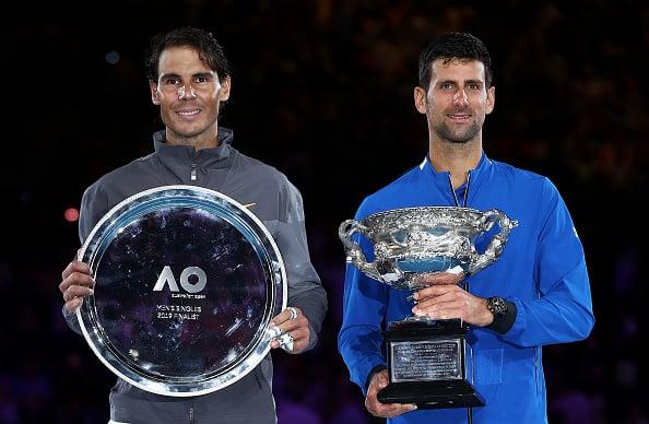 Djokovic beat Nadal in the Australian Open final last year (Image: Julian Finney)