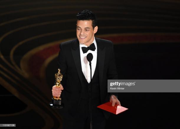 Rami Malek con el Oscar | Getty Images-Kevin Winter