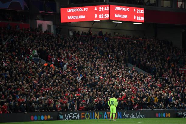 La impactante imagen que dejó el resultado en Anfield / Foto: Gettyimgaes