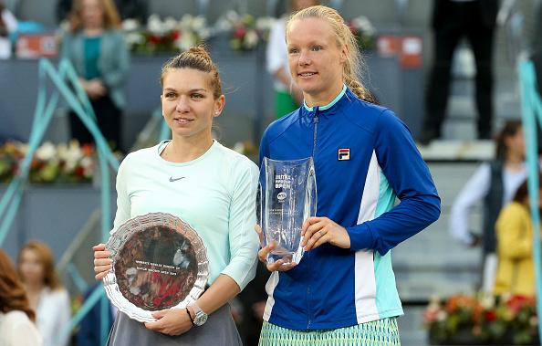 Kiki Bertens beat Simona Halep in the Women's final last year (Image: Jean Catuffe)