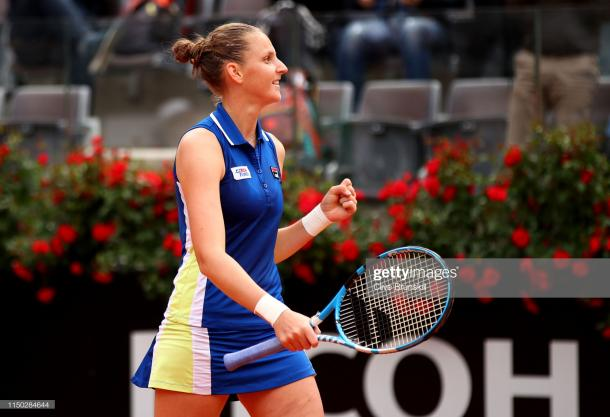 Pliskova cemented her place as one of the favorites for the French Open title with this victory (Getty Images/Clive Brunskill)