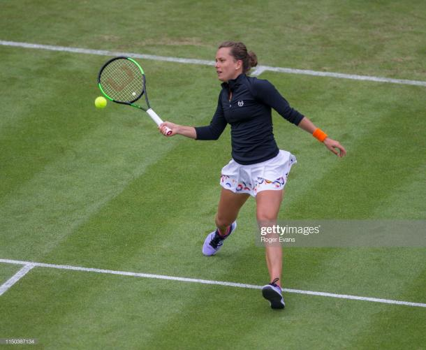 Strycova has won four straight sets after losing her opening set/Photo: Roger Evans/Getty Images