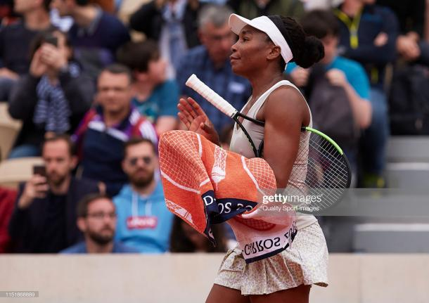 Williams lost in the first round at the French Open (Getty Images/Adam Pretty)