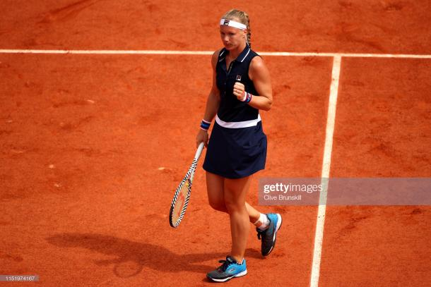 Bertens will be a danger on the grass courts (Getty Images/Clive Brunskill)