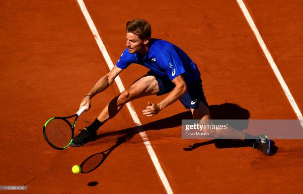 Goffin in action (Getty Images/Clive Brunskill)