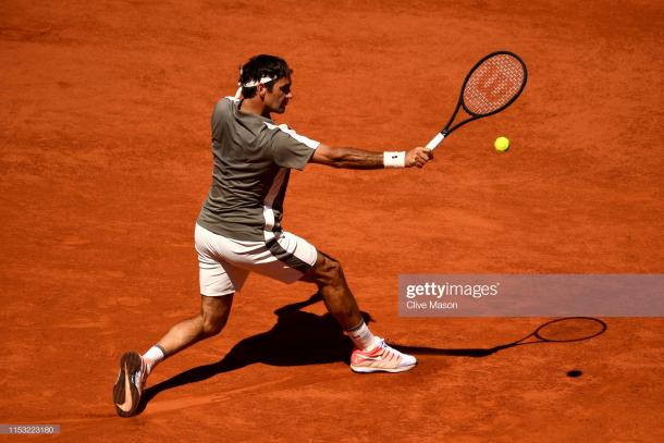 Federer has not dropped a set this fortnight (Getty Images/Clive Mason)