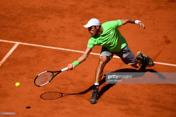Mayer in action (Getty Images/Clive Mason)