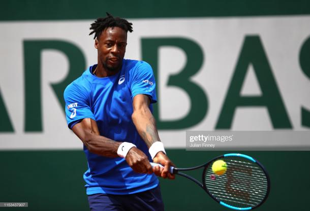 Monfils did not come too close to threatening Thiem today (Getty Images/Julian Finney)