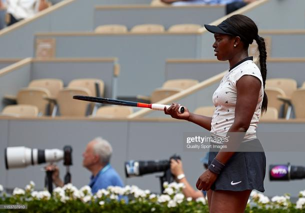 Stephens is back in action for the first time since she lost to Johanna Konta in the quarterfinals of the French Open/Photo: Quality Sport Images/Getty Images