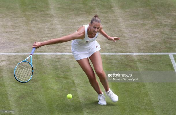 Pliskova is looking to make the last eight at Wimbledon for the first time (Getty Images/Rob Newell-Camera Sport)