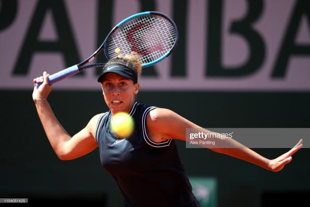Keys is a consistent slam performer (Getty Images/Alex Pantling)