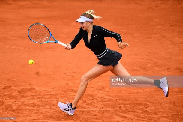 Anisimova was just three games from victory (Getty Images/Clive Mason)