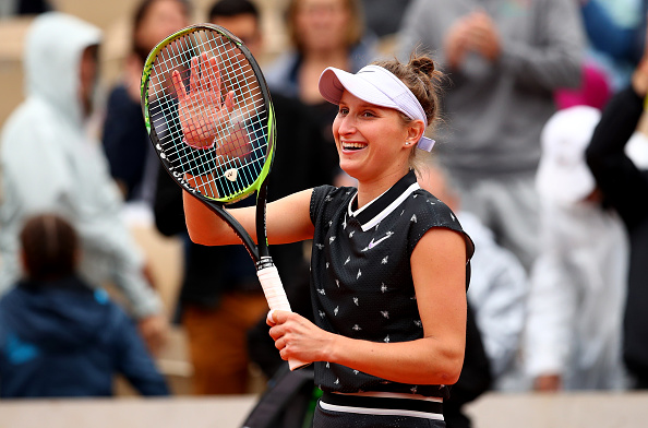 Marketa Vondrousova was the runner-up at the French Open last year (Image: Clive Brunskill)