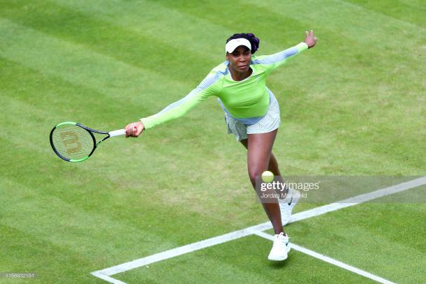 Williams advanced fairly comfortably against a dangerous opponent/Photo: Jordan Mansfield/Getty Images