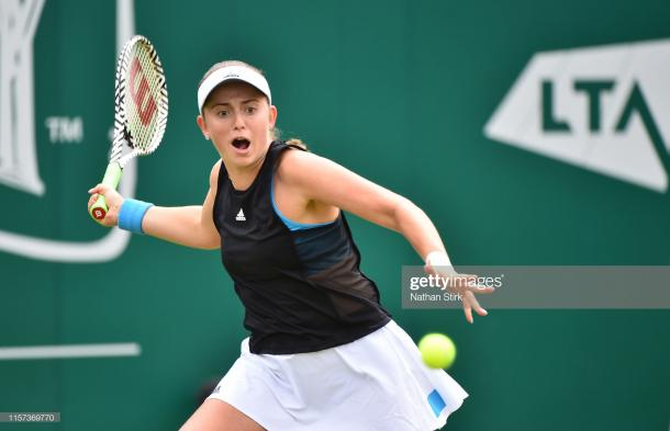 Ostapenko looks to continue her recent run on grass/Photo: Nathan Stirk/Getty Images