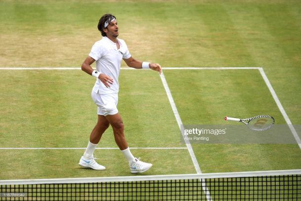 Lopez celebrates capturing his second title at the tournament (Getty Images/Alex Pantling)