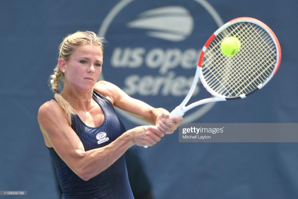 Camila Giorgi in action (Getty Images/Mitchell Layton)