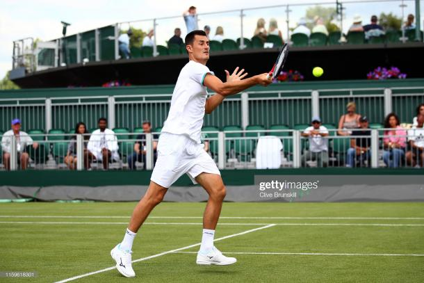 Tomic will play at the Atlanta Open this week (Image source: Clive Brunskill/Getty Images)