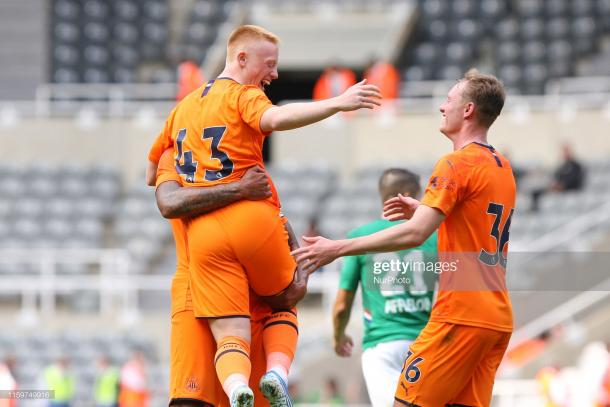 Both Matty and Sean Longstaff are included (Photo by NurPhoto/Getty Images)