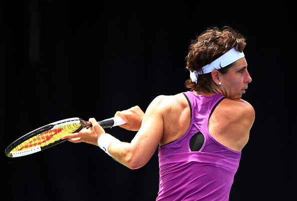 Suarez Navarro will be in action at the Australian Open for the final time (Photo;Vaughn Ridley)