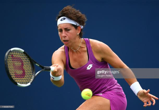 It has been a rather disappointing year for Suarez Navarro | Photo: Vaughn Ridley/Getty Images