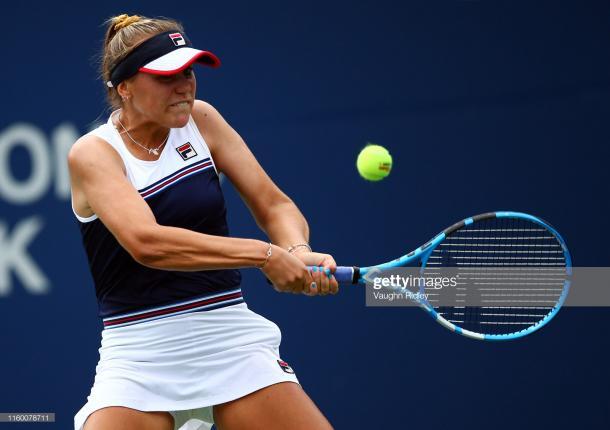 Sofia Kenin will take on Elina Svitolina tomorrow | Photo: Vaughn Ridley/Getty Images