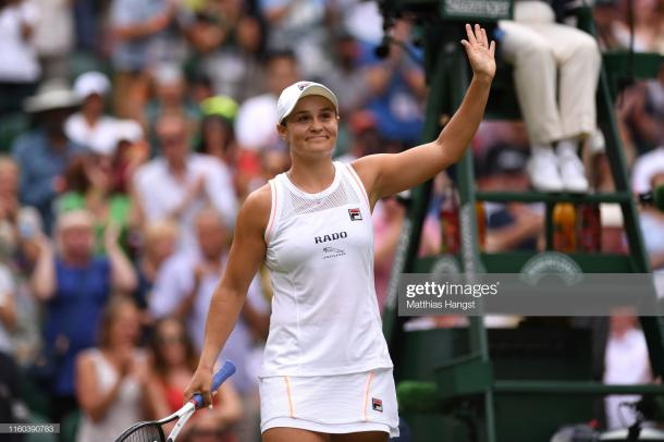 World number one Barty is on a 15-match winning streak (Getty Images/Matthias Hangst)