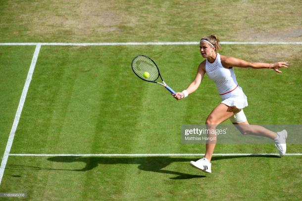 Muchova dazzled this fortnight, but ran out of gas/Photo: Matthias Hangst/Getty Images