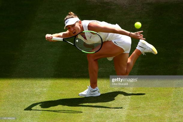 Simona Halep will look to defend as well as usual to frustrate her opponent (Getty Images/Clive Brunskill)