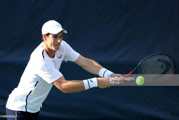 Murray played at the US Open last year but lost in the second round to Daniil Medvedev (Image source: Rob Carr/Getty Images)