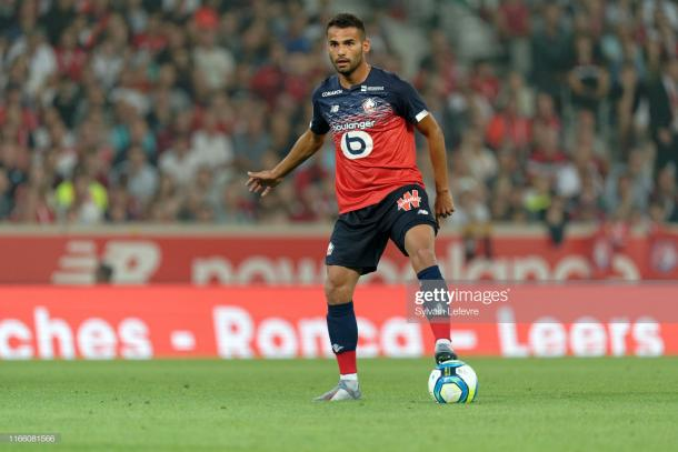 Thiago Maia of Lille (Photo by Sylvain Lefevre/Getty Images)