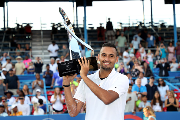 Nick Kyrgios won the Men's Singles at the Citi Open last summer (Image: Rob Carr)