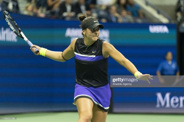 Andreescu powered through Bencic to reach the final/Photo: