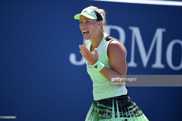 It was a frustrating US Open campaign for Angelique Kerber | Photo: Emilee Chinn/Getty Images