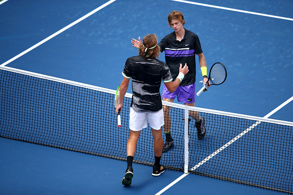 Rublev and Tsitsipas hope to meet again at the French Open (Photo: Julian Finney)