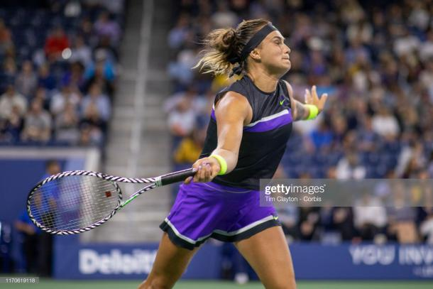 Aryna Sabalenka is defending the Wuhan title soon | Photo: Tim Clayton/Corbis via Getty Images