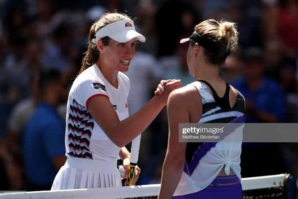 This will be Svitolina's second semifinal. She reached her first one at Wimbledon this year. (Getty Images/Matthew Stockman)