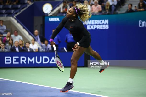 It was a good serving day for Williams   Photo: Clive Brunskill/Getty Images