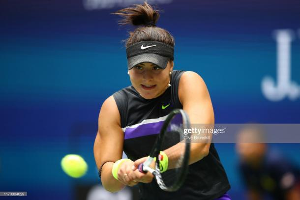 Andreescu was playing excellently today | Photo: Clive Brunskill/Getty Images