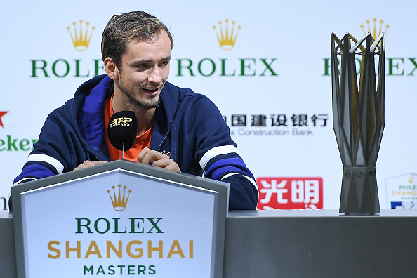 The Shanghai Rolex Masters, won by Daniil Medvedev in 2019, is the biggest ATP event cancelled (Image: Zhe Ji)