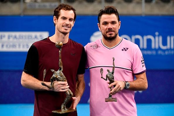 Murray beat Wawrinka in the Antwerp Open final in 2019 (Image: John Thys)