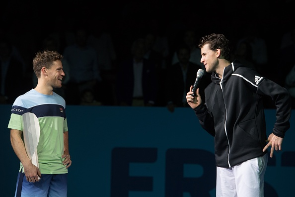 Thiem and Schwartzman have faced off a couple of times in the last year, most notably at the Erste Bank Open in Austria (Photo: Andrea Kareth)